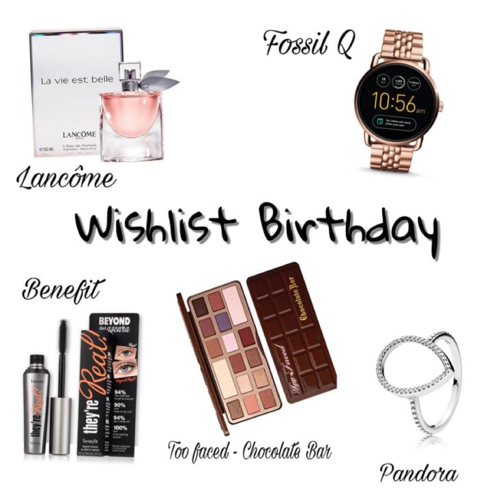 Birthday Wishlist' 17