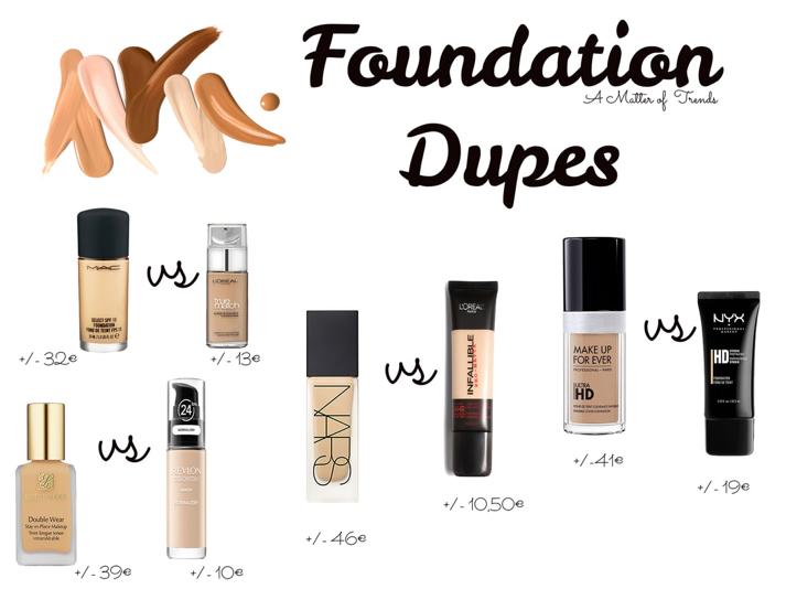 Dupes – Foundation